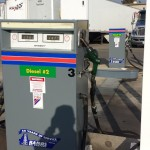 Commercial Painting - Gas Station Pump Decals - Ramos Oil