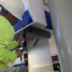 Commercial Painting - Gas Station - San Leandro - Chevron 2
