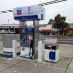 Commercial Painting - Gas Station - San Leandro - Chevron 3