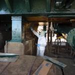Industrial Painting - Industrial Tank Tumbler - Oakland CA - SCHNITZER STEEL