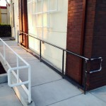 Industrial Painting - Maintenance Railing - Tully Rd - Wendt Construction
